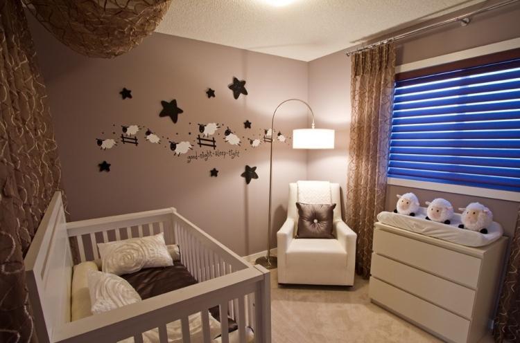 comment d corer la chambre de b b le monde de l a. Black Bedroom Furniture Sets. Home Design Ideas